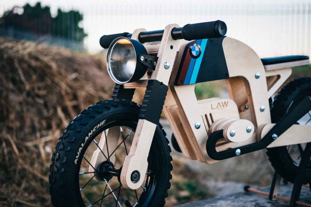 The Lawless Bike A Mini Cafe Racer For Your Mini Me Ducachica
